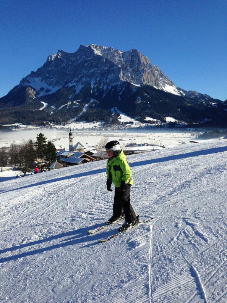 Skiurlaub mit Kindern - ab wann können Kinder Skifahren?