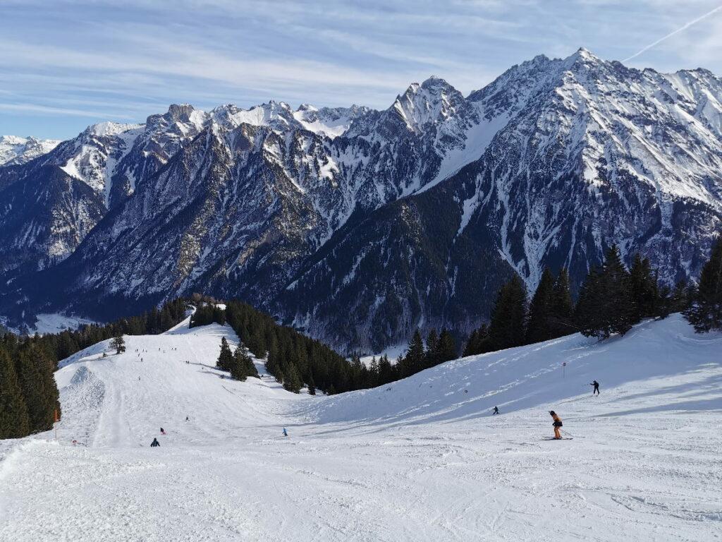 Aussichtsreich und schön - das Brandnertal im Skiurlaub mit Kindern in Österreich