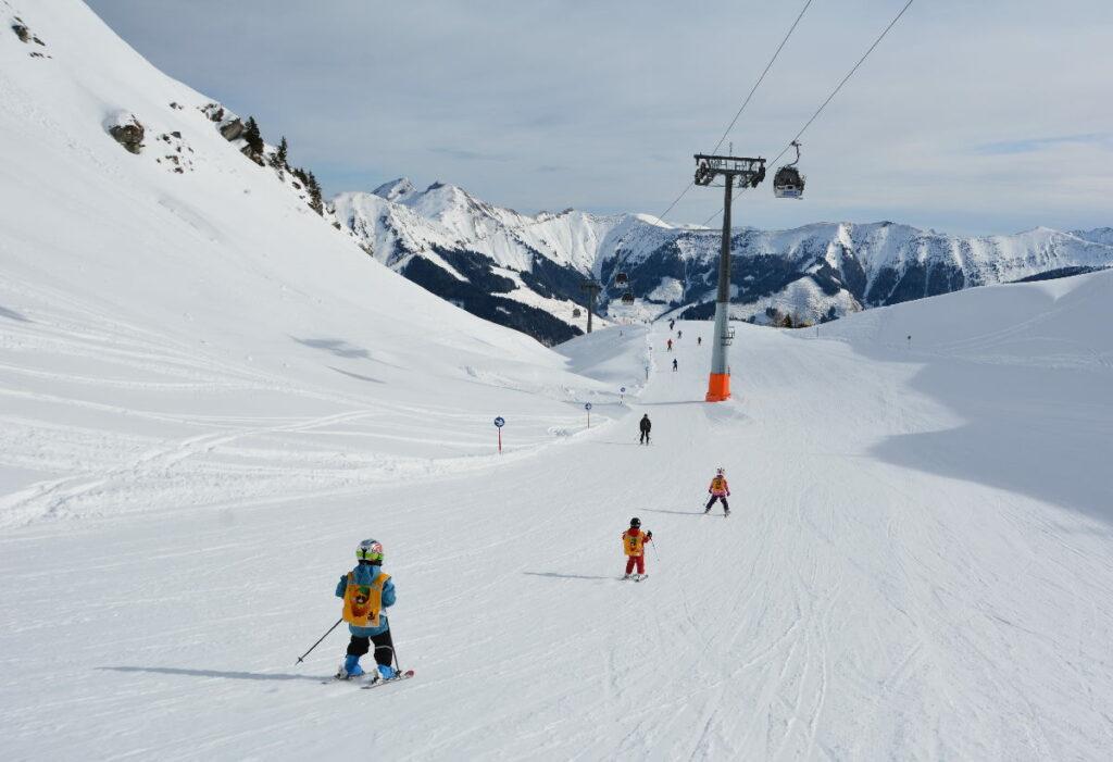 Skiurlaub mit Kindern Österreich - wie groß muß das perfekte Skigebiet sein?