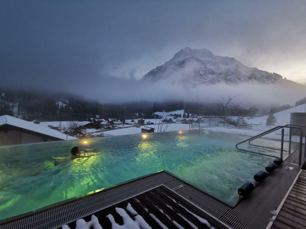 Skiurlaub mit Kindern Deutschland - im Familienhotel Rosenhof im Kleinwalsertal